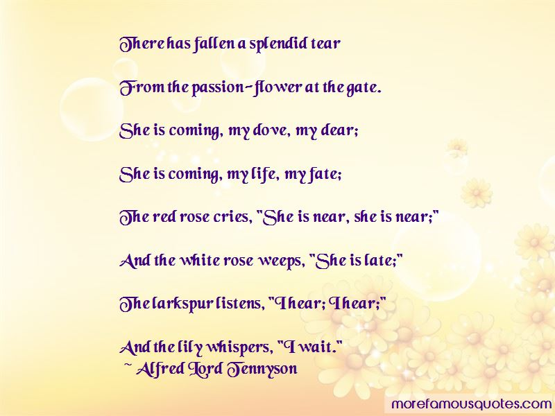 Quotes About Passion Flower