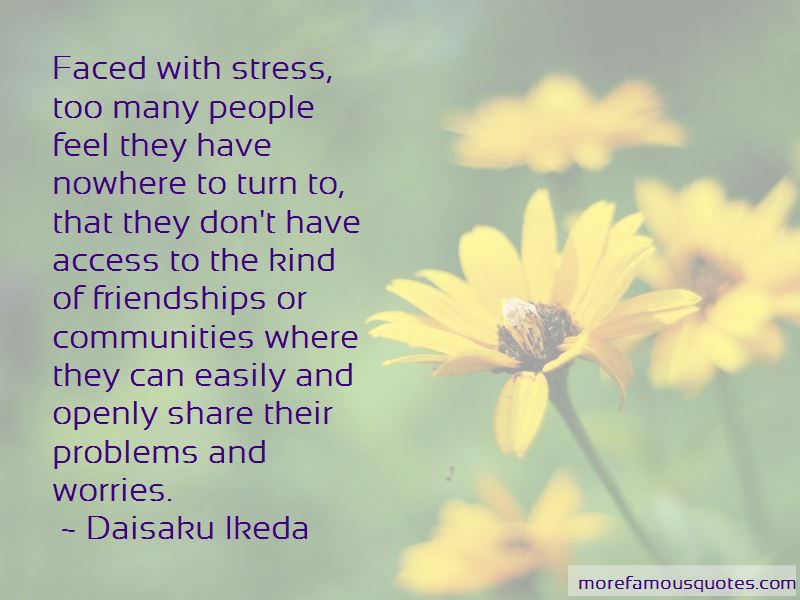 Quotes About Problems And Worries