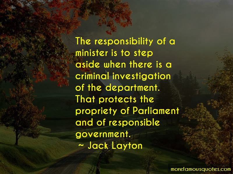 Responsible Government Quotes Pictures 2