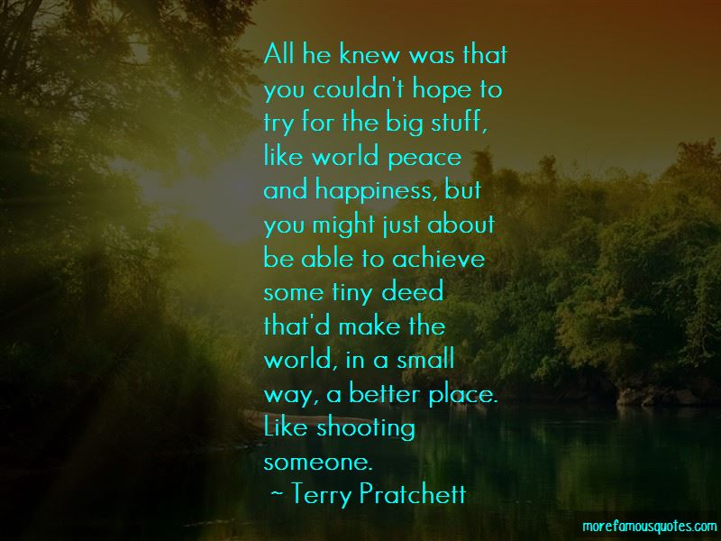 Quotes About Shooting Someone