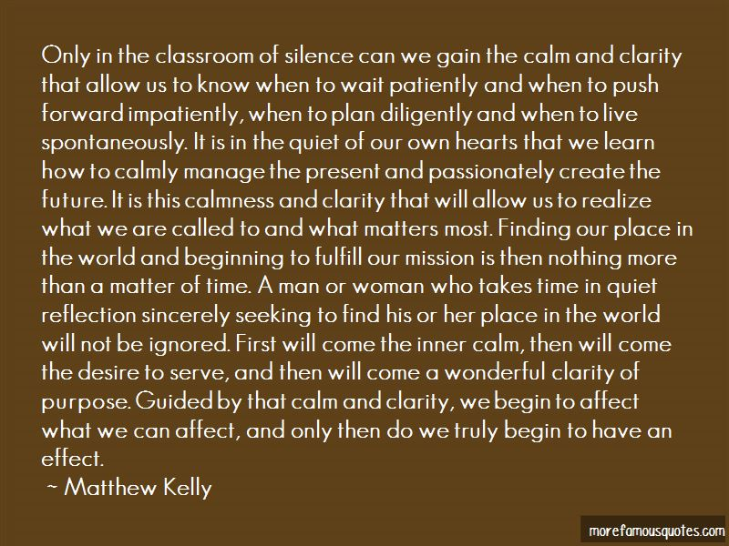 Silence Calmness Quotes Pictures 4