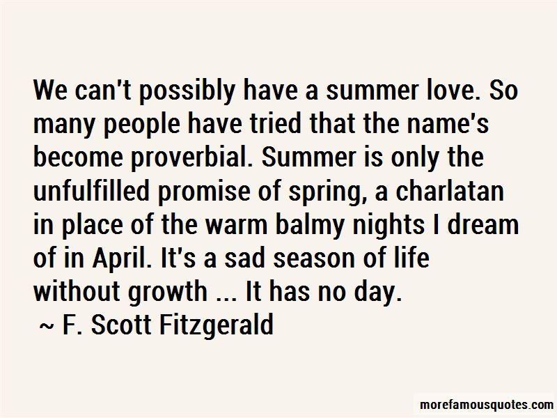 Quotes About Summer Love