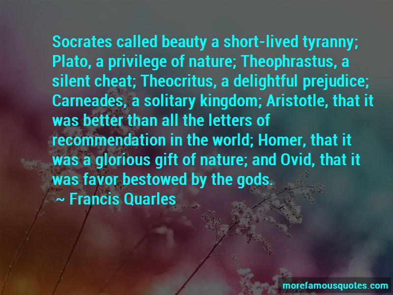 Quotes About The Beauty Of God's Nature
