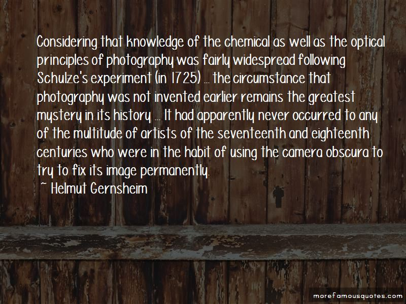 Quotes About The Camera Obscura