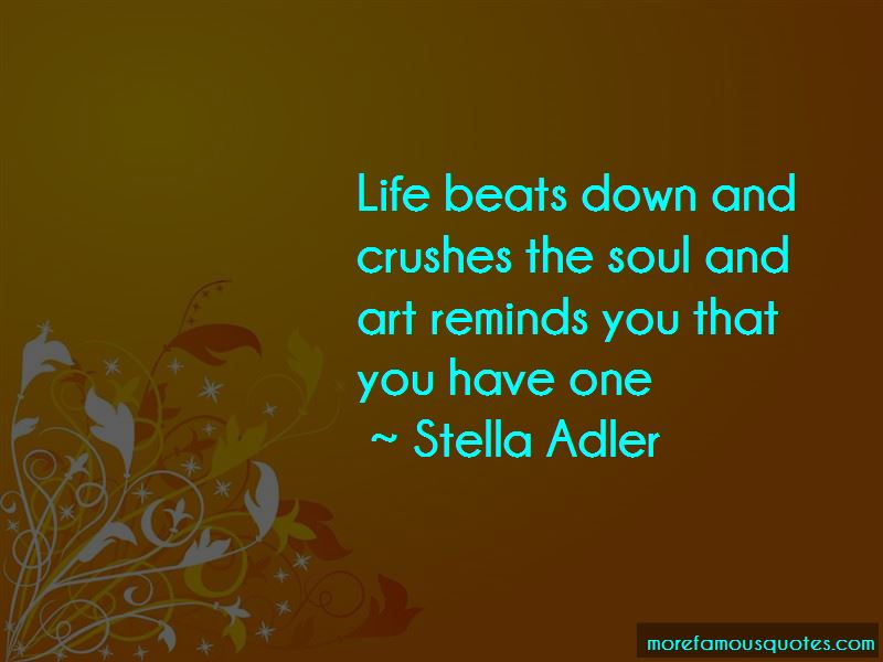 Quotes About The Soul And Art