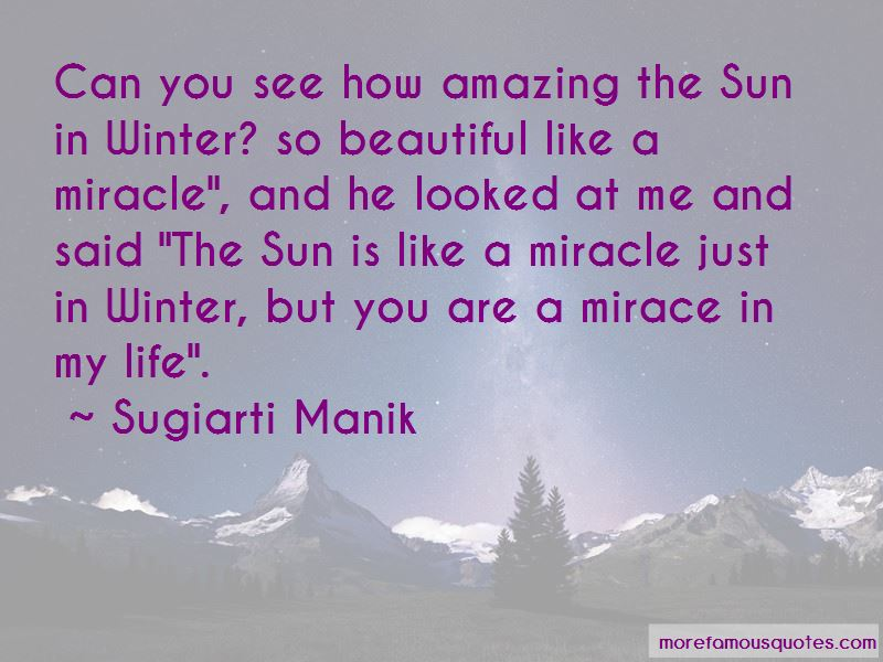 Quotes About The Sun In Winter