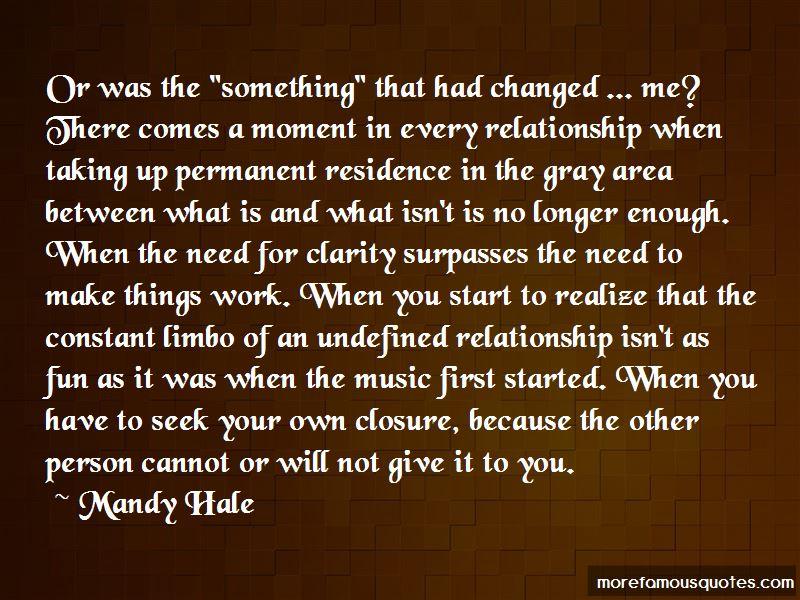 Relationship Limbo Quotes