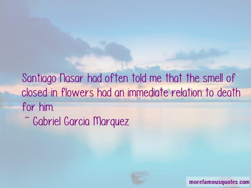 Santiago Nasar Death Quotes