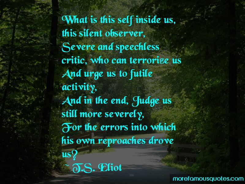 Silent Observer Quotes