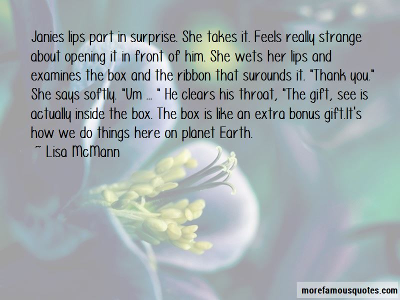 Surprise Gift From Him Quotes Pictures 3