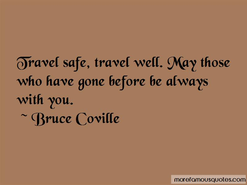 Travel Safe Quotes
