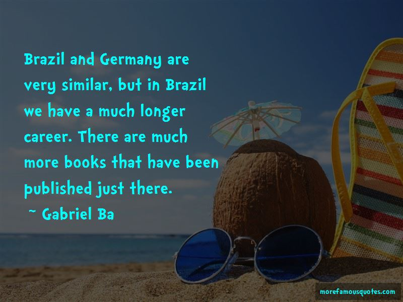 Brazil Germany Quotes