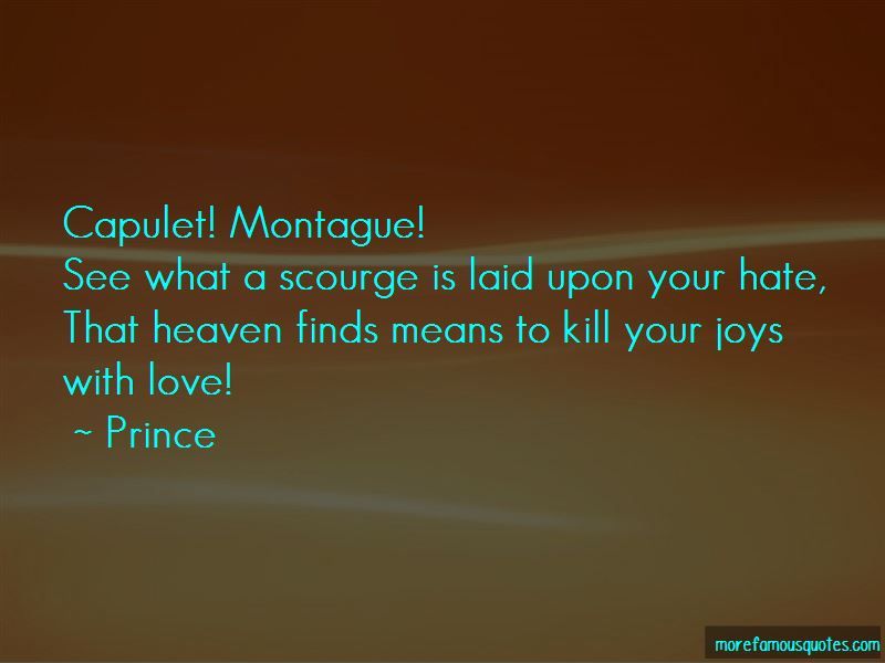Capulet And Montague Quotes Pictures 2