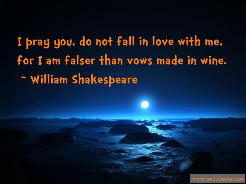 Do Not Fall In Love With Me Quotes