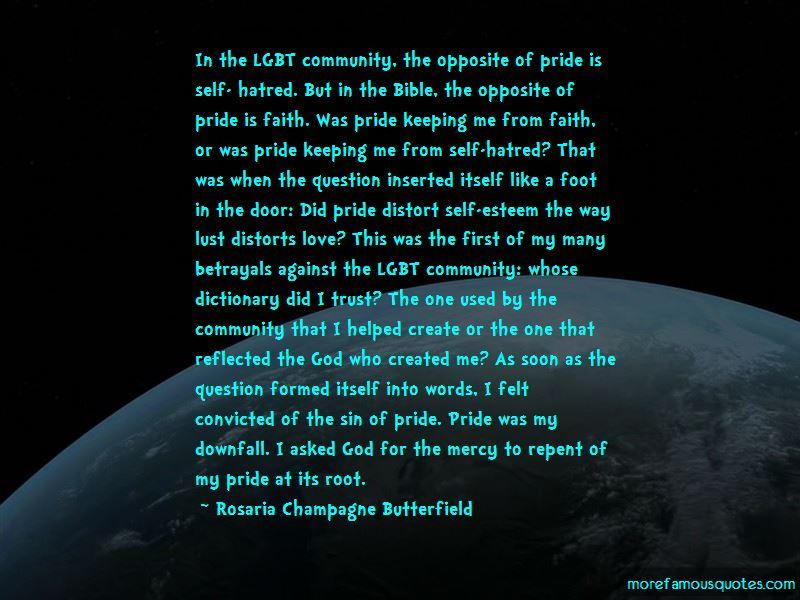 Faith On Self Quotes