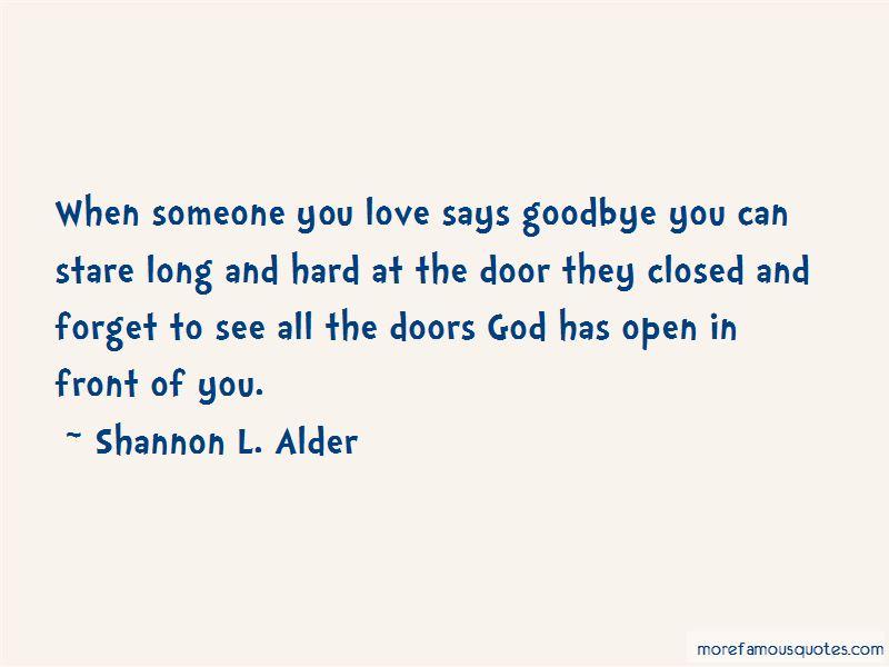 God Open Door Quotes Pictures 4