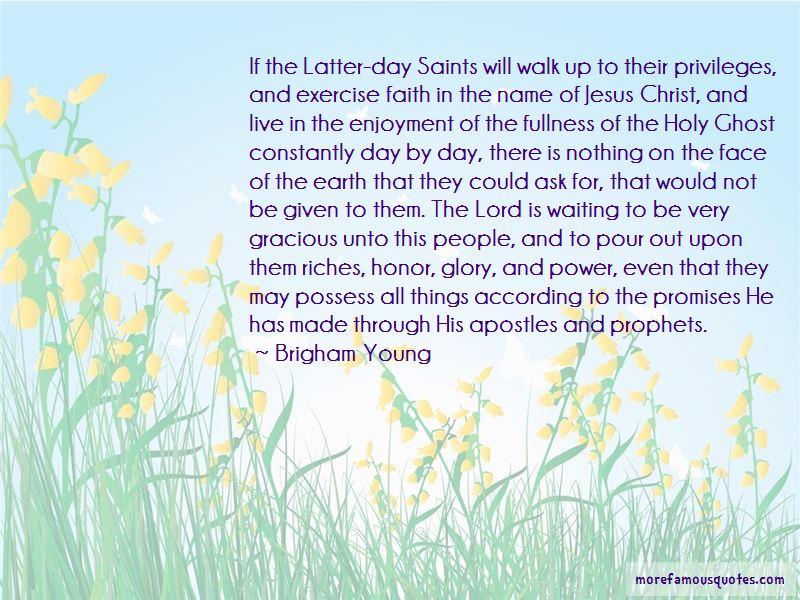 Latter-day Saints Prophets Quotes