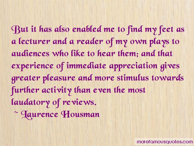 Lecturer Appreciation Quotes