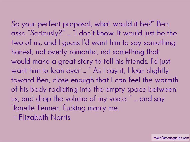 Marry Proposal Quotes