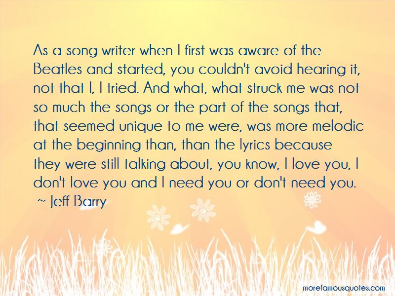 More Than Love You Quotes