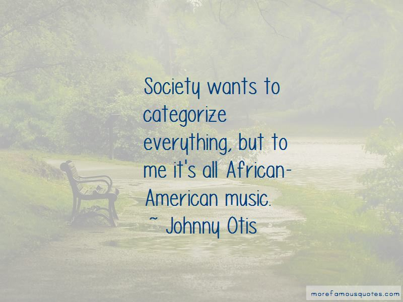 Quotes About African American Music