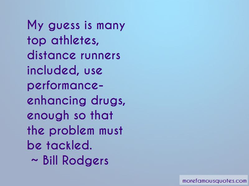 Quotes About Athletes And Drugs