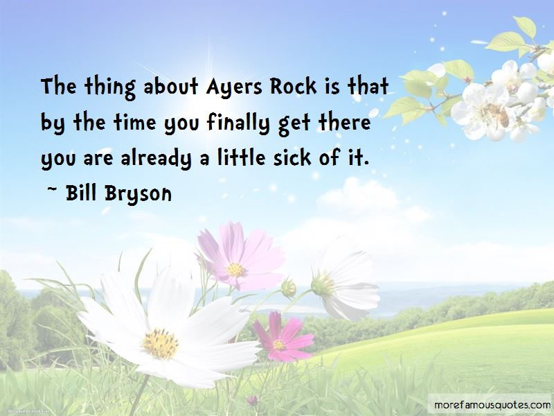 Quotes About Ayers Rock