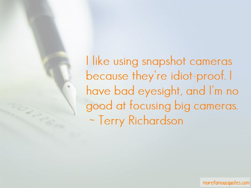 Quotes About Bad Eyesight