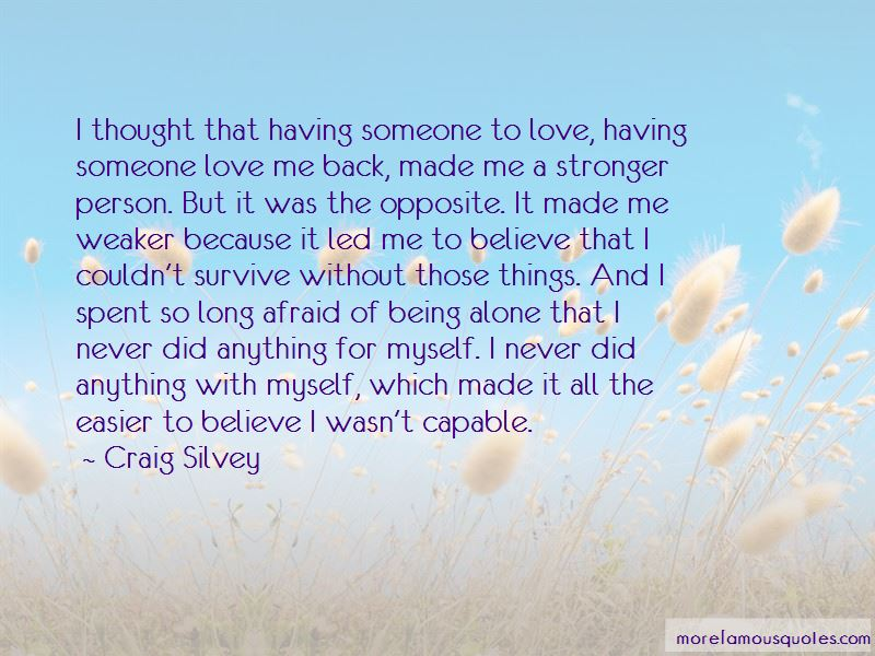 Quotes About Being Alone Without Love