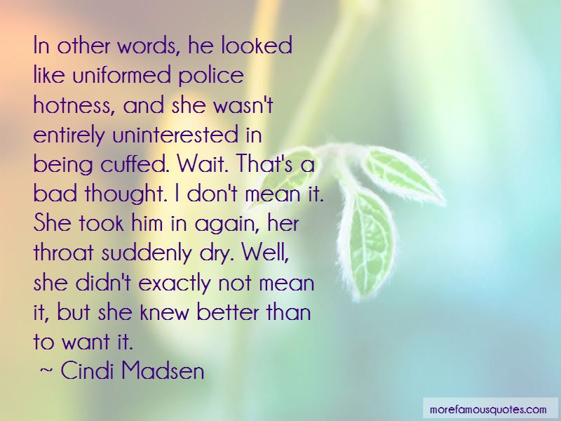 Being Cuffed Quotes Pictures 2