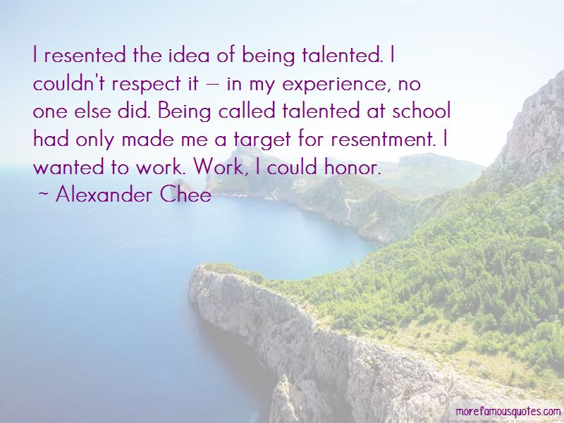 Quotes About Being Resented