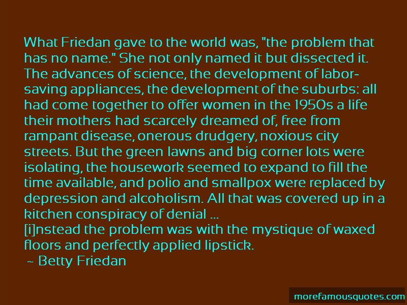 the problem that has no name betty friedan