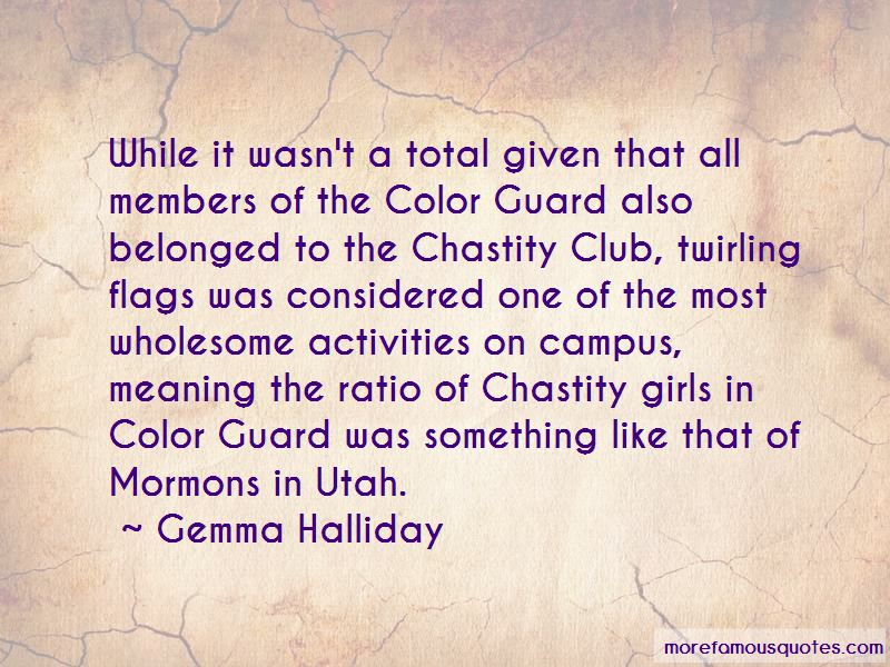 Quotes About Color Guard
