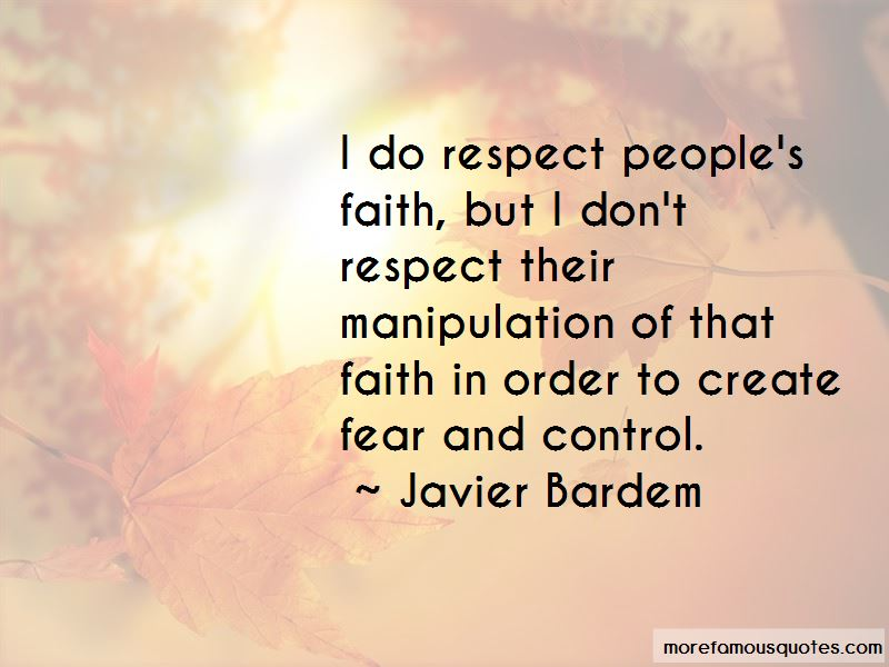 Quotes About Fear And Control
