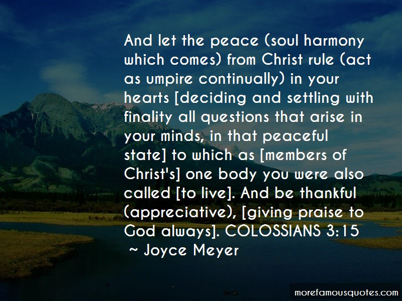 Quotes About Giving Praise To God