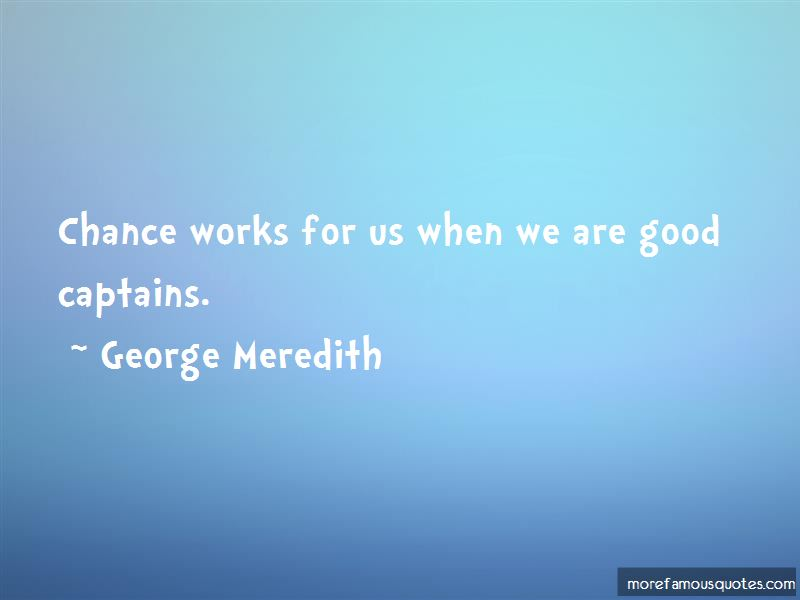 Quotes About Good Captains