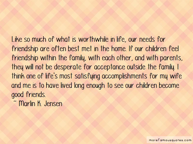 Quotes About Good Friends And Life