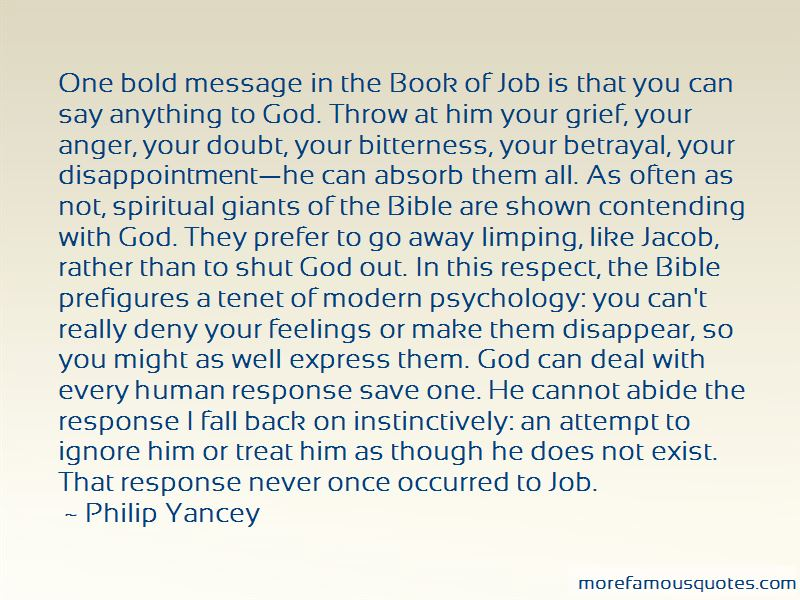 Quotes About Grief From The Bible