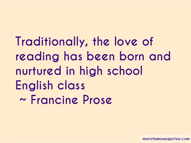 Quotes About High School English Class