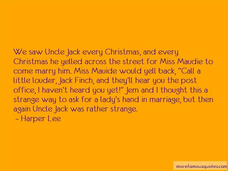 Quotes About Jack Finch