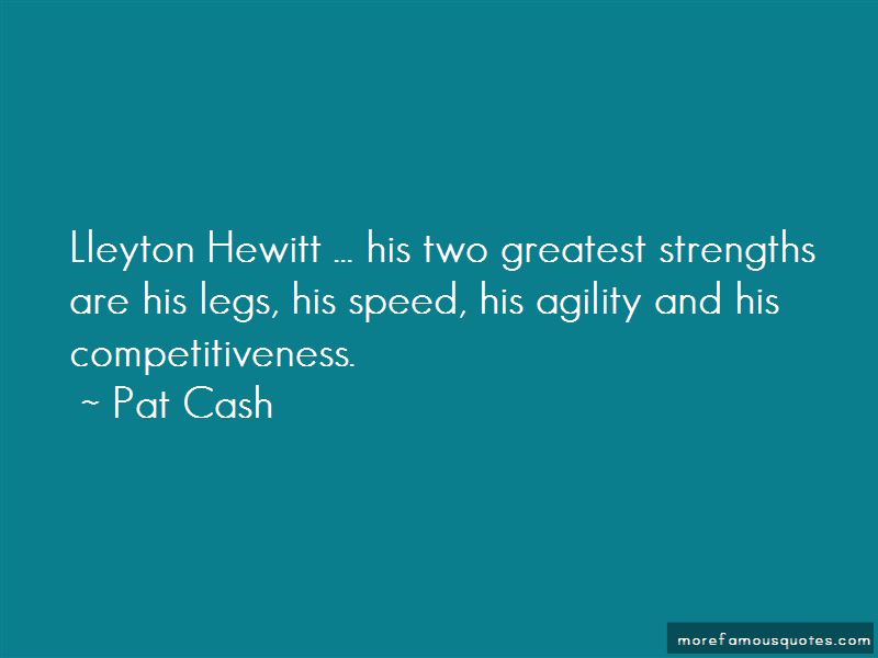 Quotes About Lleyton Hewitt