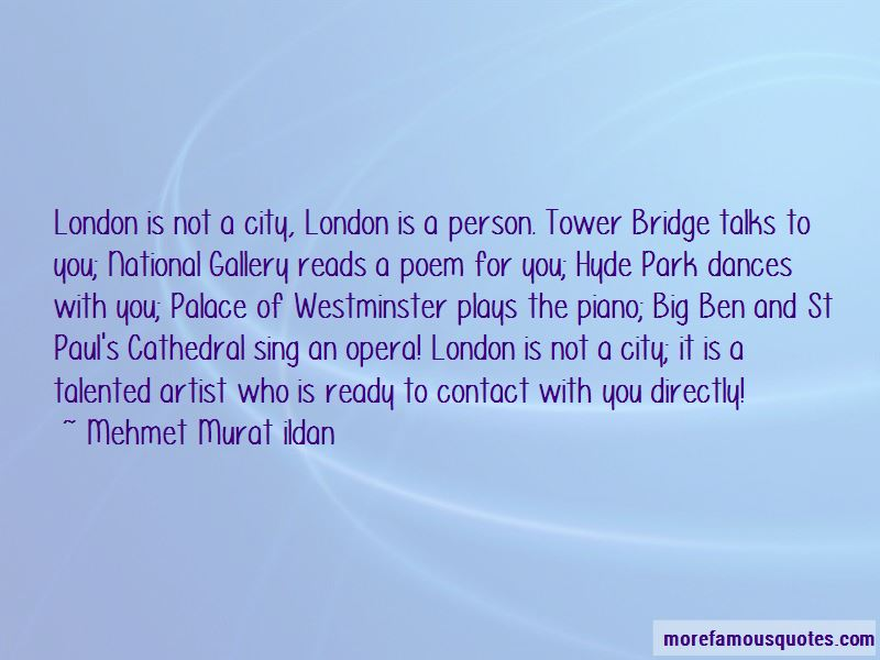 Quotes About London Big Ben