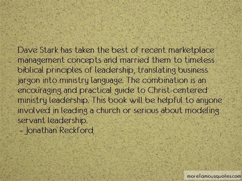 Quotes About Ministry Leadership