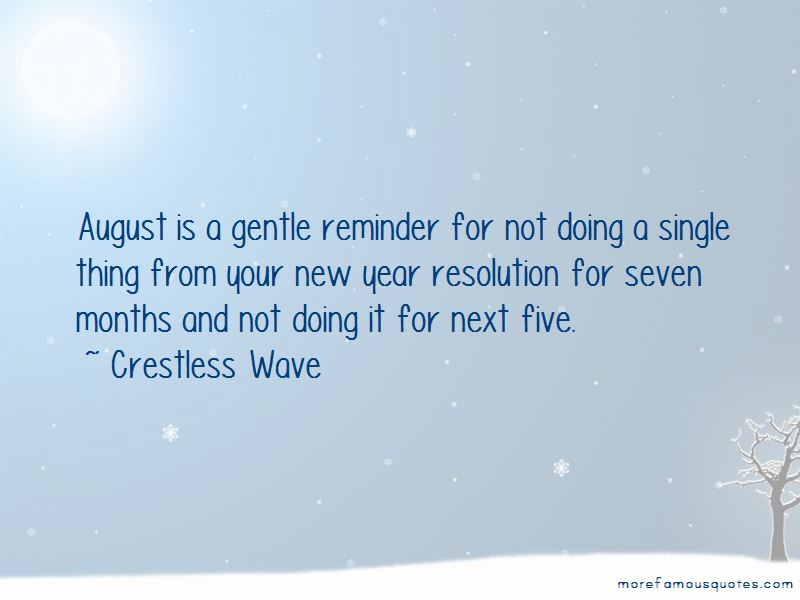 Quotes About New Year Resolution