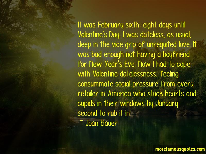 Quotes About Not Having A Valentine