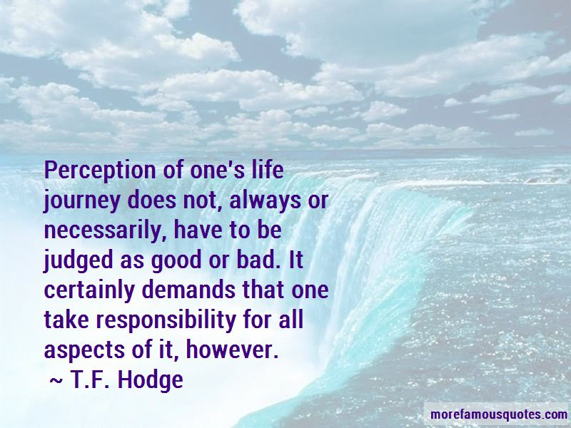 Quotes About One's Life Journey
