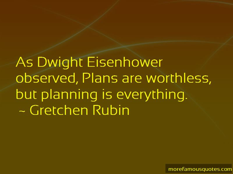Quotes About Planning Eisenhower