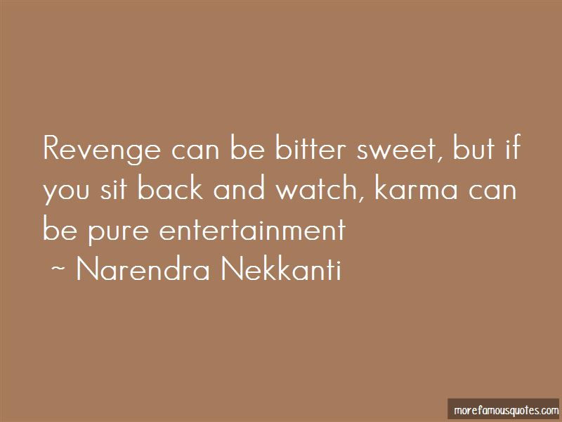 Quotes About Revenge And Karma