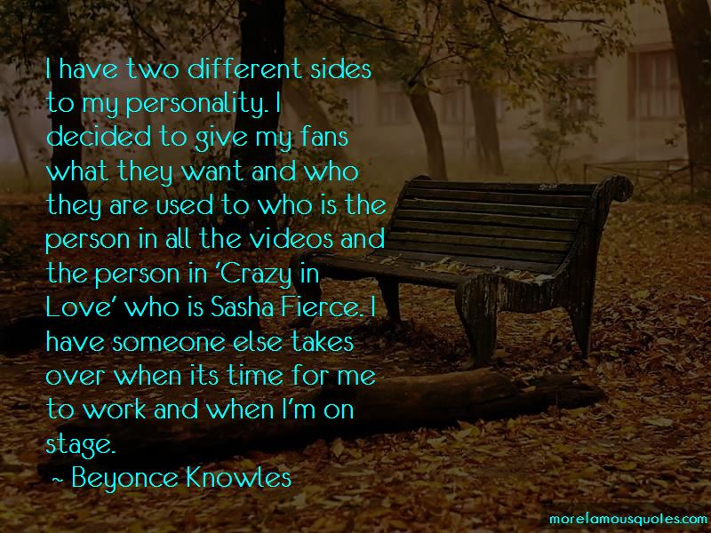Quotes About Sasha Fierce