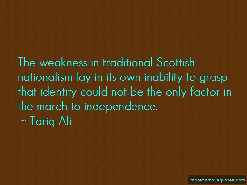 Quotes About Scottish Nationalism